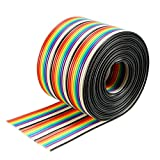 Best uxcell Long Boards - uxcell 30P Jumper Wire 1.27mm Pitch Ribbon Cable Review