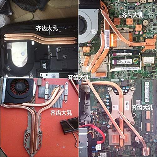 1PCS//LOT YT226 Flat Copper Heat pipe 80x8x3mm Laptop CPU GPU Video Card Heat sink DIY Oblate Tube Heatpipe Brass Transporter-Space