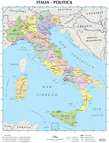 Cartina Italia Politica Hd.Dialogo Altri Posti Specifico Carta Italiana Fisica Amazon Agingtheafricanlion Org