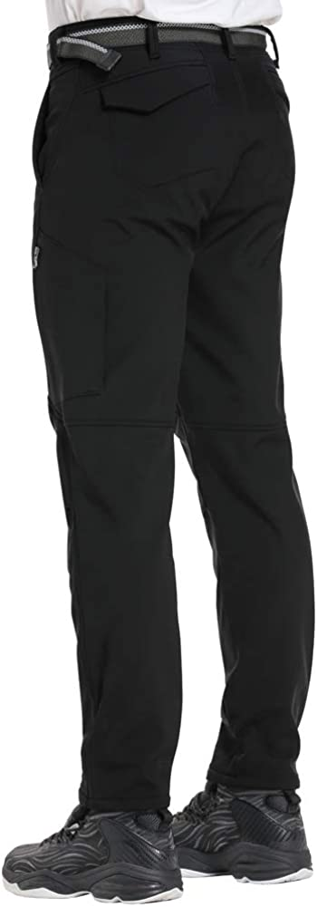 Jessie Kidden Womens Snow Pants Fleece Lined Soft Shell Insulated Waterproof Pants Tactical Winter Hiking Camping Travel