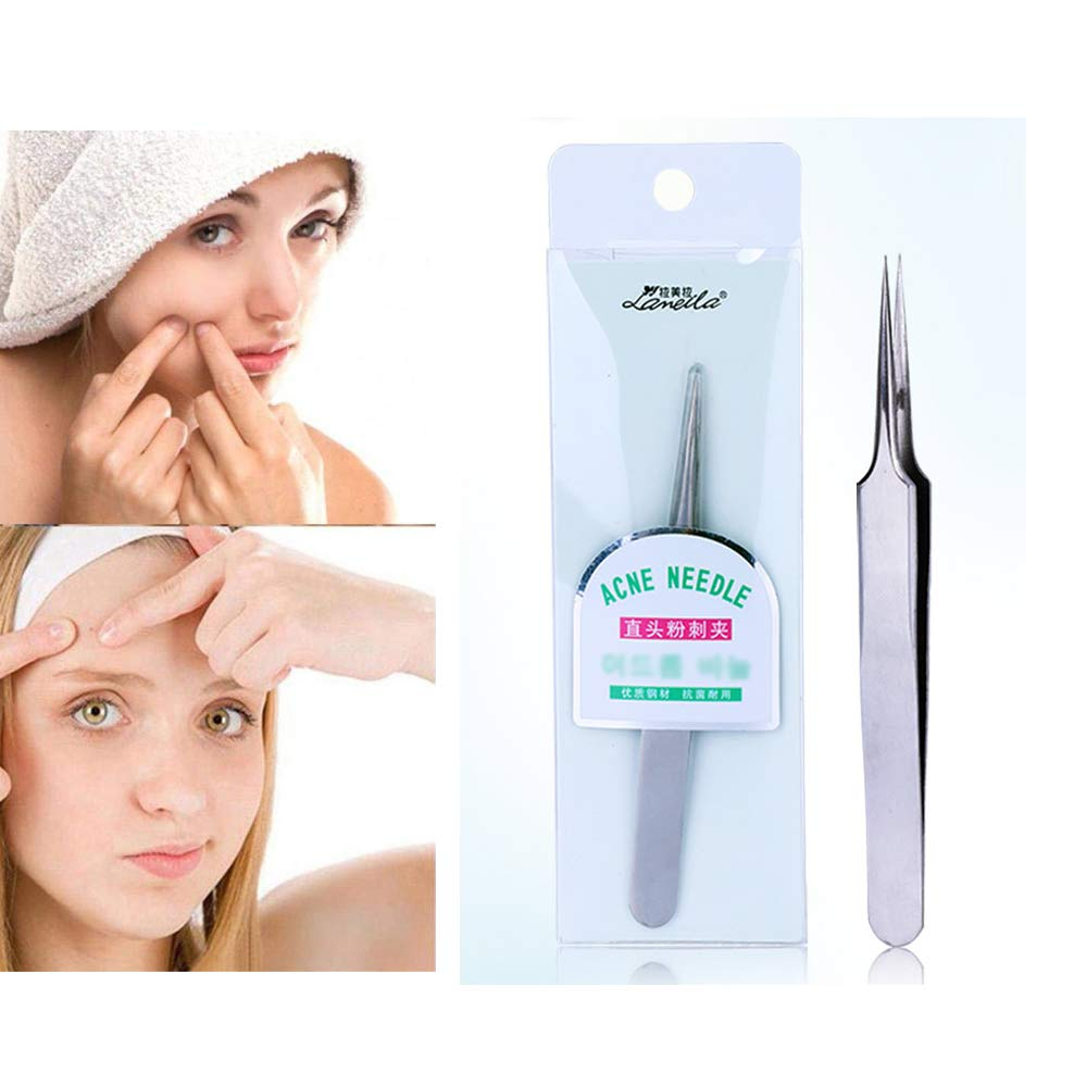 1Pcs Professional False Magnetic Eyelashes Extension Applicator Clip Tweezers