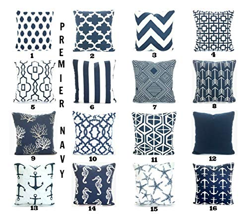 1b8b7b0f4a18c ... Navy Blue White Pillow Covers Decorative Throw Pillows Cushions Navy  Blue White Aiden Mid Century Retro