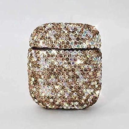 CHENCHUAN auriculares de carga caja protectora de la caja Diamonds ...