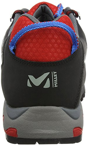 000 Senderismo de Unisex Grey Zapatillas Millet GTX Trident Red Multicolor Adulto nWqFFIv7