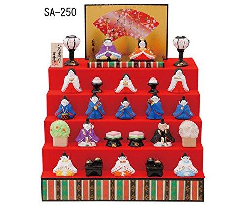 Hina-ningyo Japanese Traditional Dolls Product No. SA-250