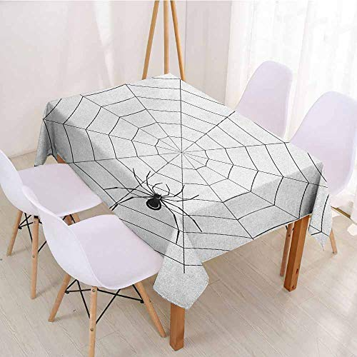 ScottDecor Printed Tablecloth Wrinkle Free Tablecloths W 60