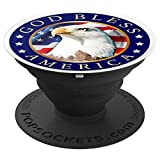 VTV- God Bless America PopSockets Grip and Stand for Phones and Tablets