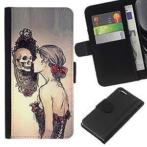 Stuss Case / Funda Carcasa PU de Cuero - Espejo profundo Pretty Woman Significado - Apple Iphone 5C