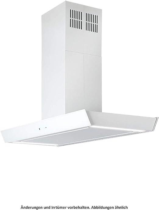Silverline Vela Isola Premium VAI 920 W - Cubierta para isla (cristal, 90 cm), color blanco: Amazon.es: Grandes electrodomésticos