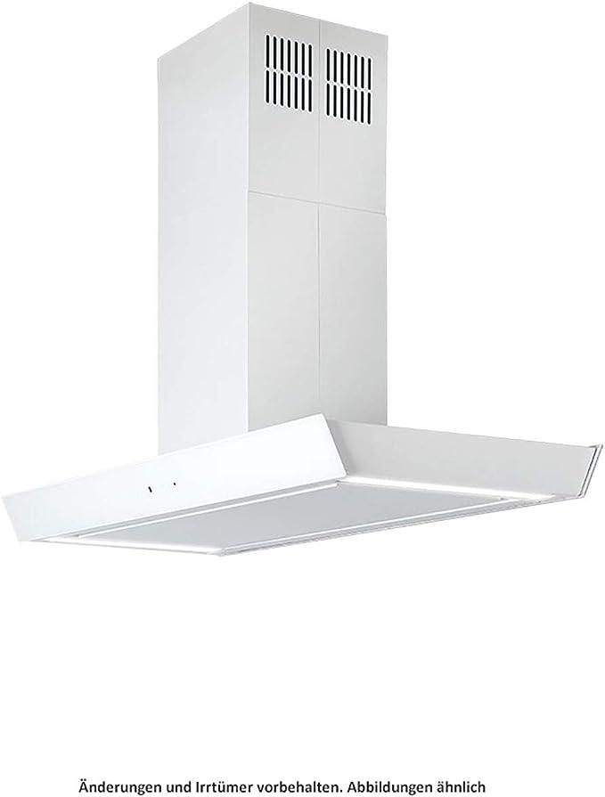 SILVERLINE Vela Isola Premium VAI 120 W - Cubierta para isla (cristal, 120 cm), color blanco: Amazon.es: Grandes electrodomésticos