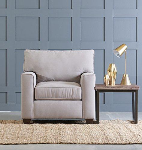 Klaussner Furniture Neyland Accent Chair, 39″, Dune