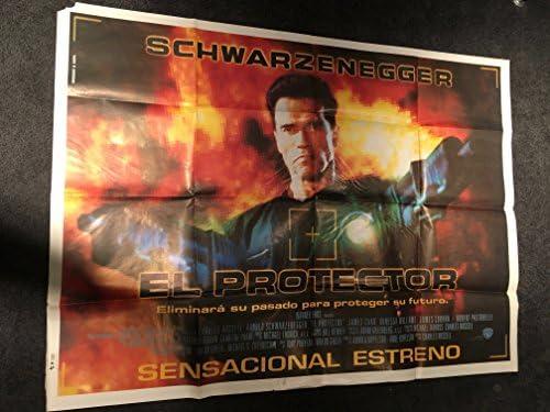 Eraser 1996 Original Vintage Argentinian Giant Movie Poster 44x59 Arnold Schwarzenegger Vanessa Williams James Caan Terminator At Amazon S Entertainment Collectibles Store