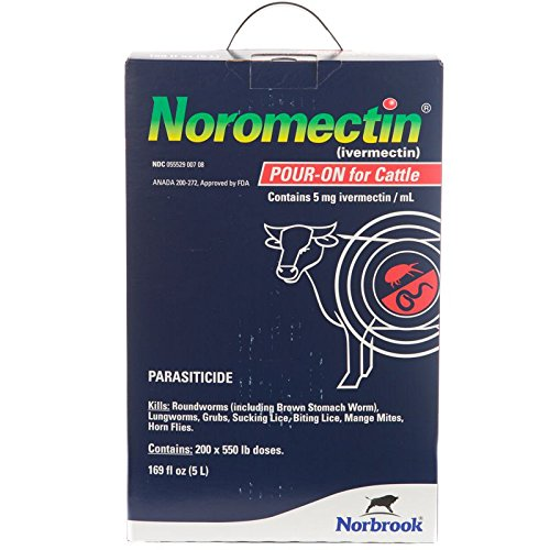 Norbrook Ivermectin Pour On 5L by Norbrook