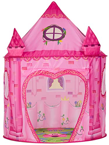 - Princess Play Tent Playhouse | Unique Castle Design for Indoor and Outdoor Fun, Imaginative Games & Gift | Foldable Playhouse Toy + Carry Bag for Girls & Boys | by Imagenius Toys
