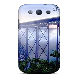 New Tpu Hard Case Premium Galaxy S3 Skin Case Cover(new River George Bridge)