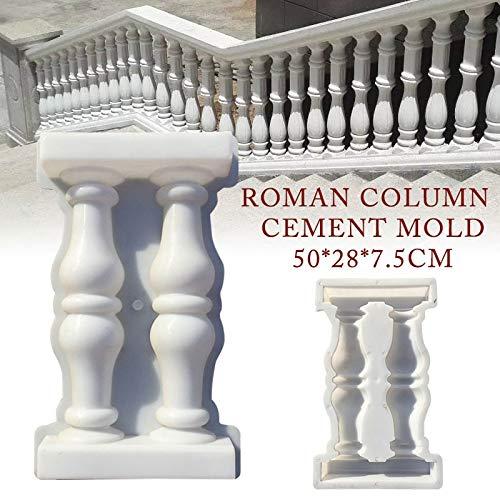 50287cm Paving Mold Fence Cement Mold Roman Column Mold Balcony Garden Stair Railing Plaster Concrete Cement Mold Building (Ideas Garden Africa Patio South)