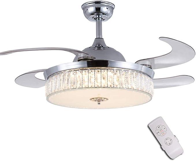 Luz del ventilador de techo, Salon Dormitorio lámpara de techo ...