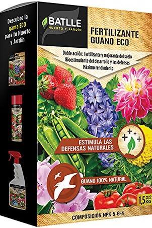 Abonos Ecológicos - Fertilizante Guano Biológico Caja 1, 5Kg ...
