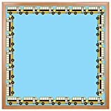 Hygloss Products, Inc 33660 Hygloss Products School Bus Die-Cut Bulletin Board Border – Classroom Decoration – 3 x 36 inch, 12 Pack