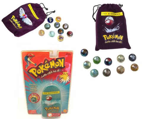 Pokemon Collector Marble Pouches 1 Random Pouch Or