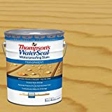 Thompson's WaterSeal 5 gal. Transparent Harvest Gold Waterproofing Stain Exterior Wood