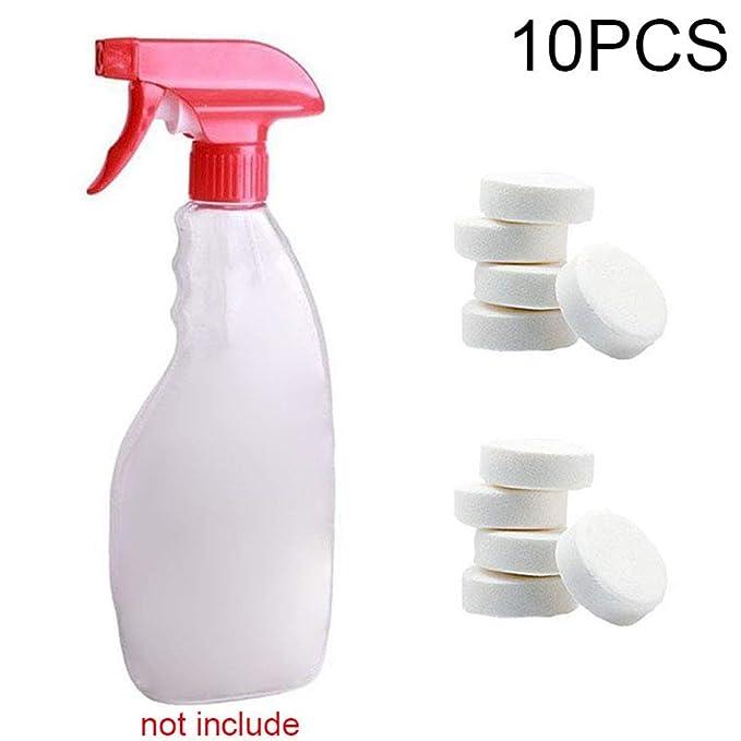 Alftek 1/5 / 10Pcs Multifuncional Efervescente Spray Cleaner Concentrado Herramienta de Limpieza del hogar: Amazon.es: Hogar