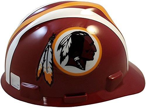 MSA NFL Ratchet Suspension Hardhats - Washington Redskins Hard Hats by MSA (Image #3)