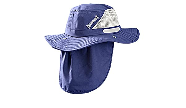 0e9fa79e OccuNomix Tuff & Dry Wicking & Cooling Ranger Hat with Neck Shade - TD500-018-L  - UPF 45+ at Amazon Men's Clothing store: