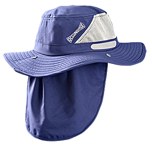 OccuNomix Tuff & Dry Wicking & Cooling Ranger Hat with Neck Shade - TD500-018-L - UPF 45+
