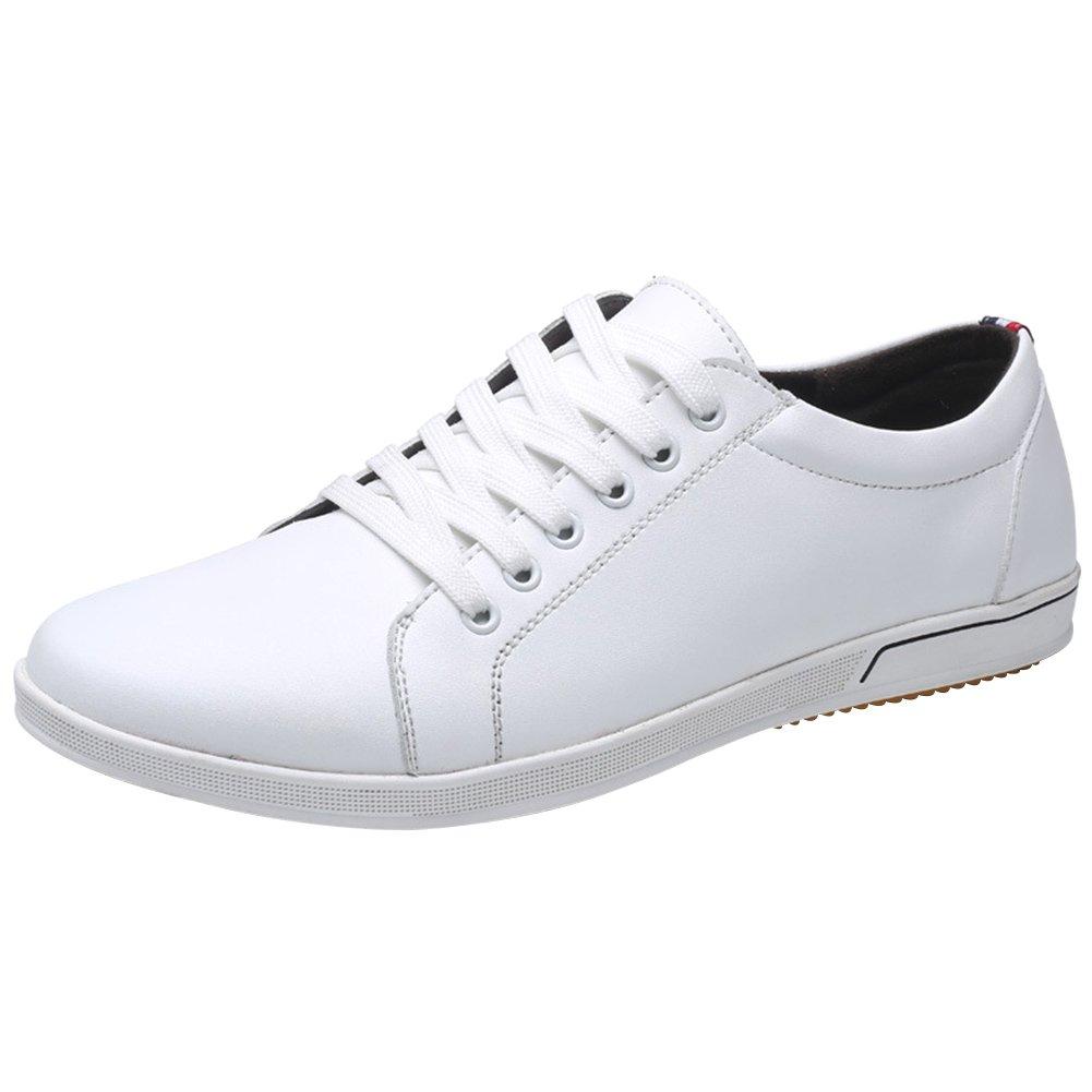 dacbb7043951 Mauea Baskets Sneakers Basses Cuir Homme Chaussures à Lacets Décontracté  Casuel Confort Running Grande Taille 45 46 47 48  Amazon.fr  Chaussures et  Sacs
