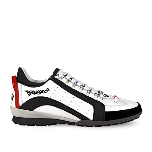 Sneakers Dsquared2 551 Pelle  Amazon.it  Scarpe e borse 4c4fe620534e