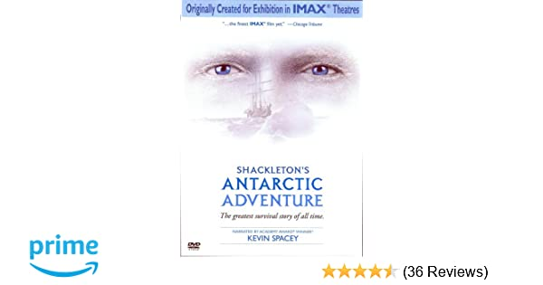 Amazon com: Shackleton's Antarctic Adventure: Kevin Spacey