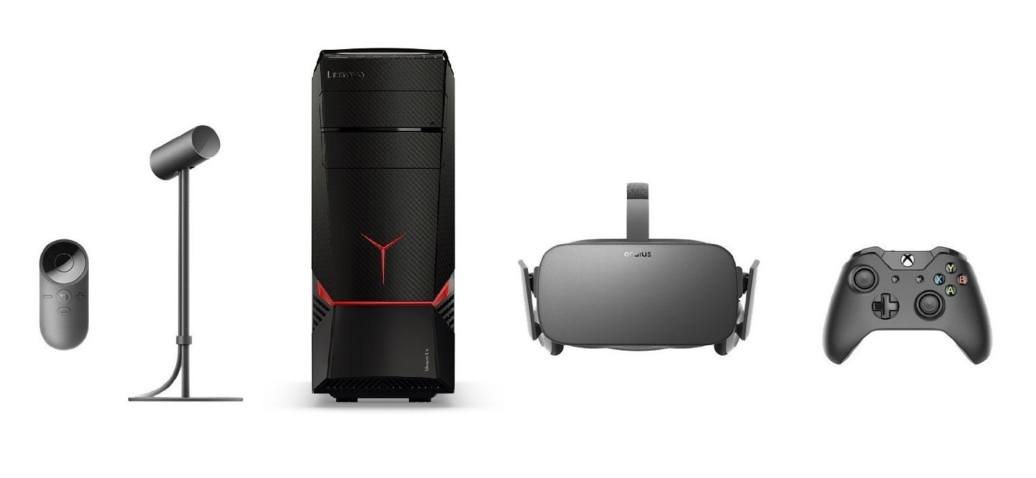 Lenovo Gaming Desktop Oculus Rift Bundle
