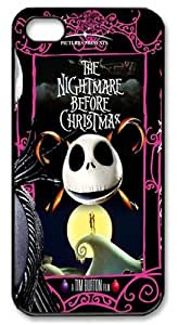 The Nightmare Before Christmas Series Design Case Cover For iPhone 4, iPhone 4s Case Durable iPhone 4/ 4s Fitted Case