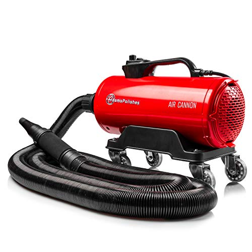 Adam's Air Cannon Car Dryer - High Powered Vehicle Blower Safely Dries Your Entire Vehicle After Car Wash & Before Wax Application - Touch-Less, Pro Drying Detailing Tool 4hp Power (Air Cannon)