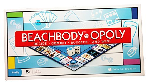 Beachbody-opoly Family Board Game NIB SEALED Late For The Sky ()