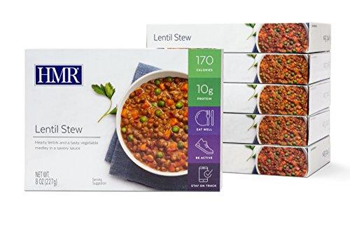HMR Lentil Stew Entree, 8 oz. Servings, 6 -
