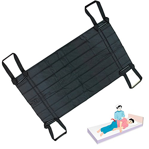 Carejoy Patient Turning & Positioning Aid Pad, Patient Transfers, Turning, Lifting Sling Mat for Bedridden Patients, Disabled, Elderly, Care Workers by Carejoy