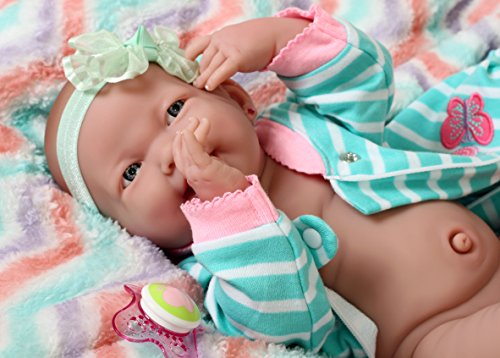 Sweet Smiling Baby Girl Doll Preemie Reborn Clothes Doll 15