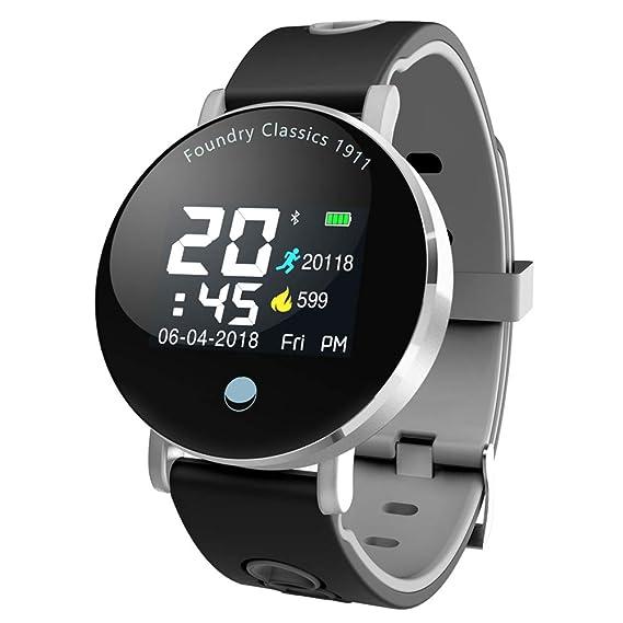 Mrrong Fitness Tracker Inteligente Bluetooth Deportes Pulsera ...