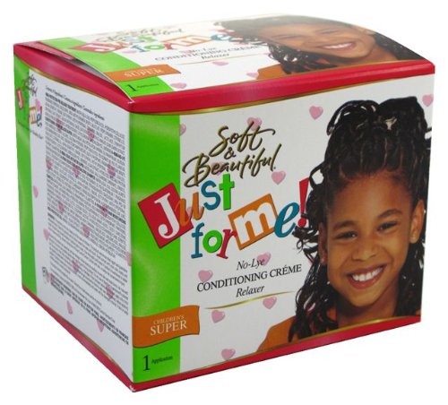 Just for Me No-lye Conditioning Creme Relax Kit Children Super (1 Application)