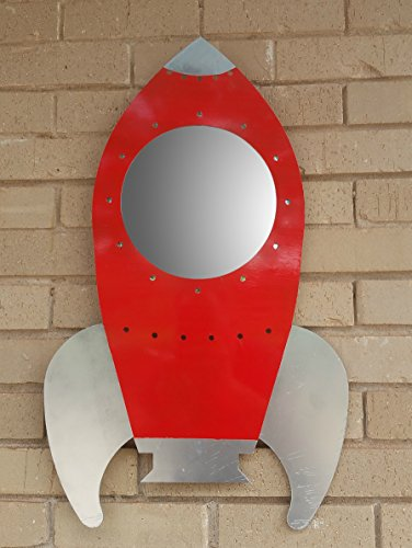 Metal Rocket Ship Mirror (Ships Mirror)