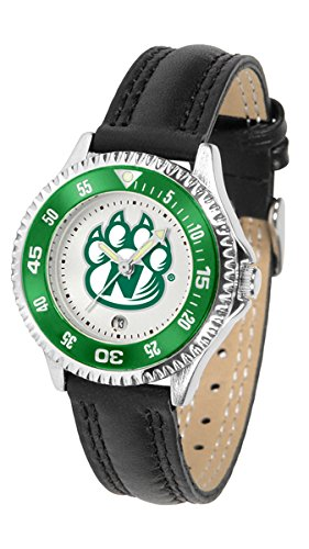 Northwest Missouri State Bearcats Competitor Ladies Watch with Leather Band