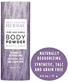 Natural Body Powder, Dusting Powder, Natural Deodorant...