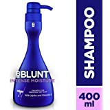 BBLUNT Intense Moisture Shampoo for Seriously Dry Hair, 400ml