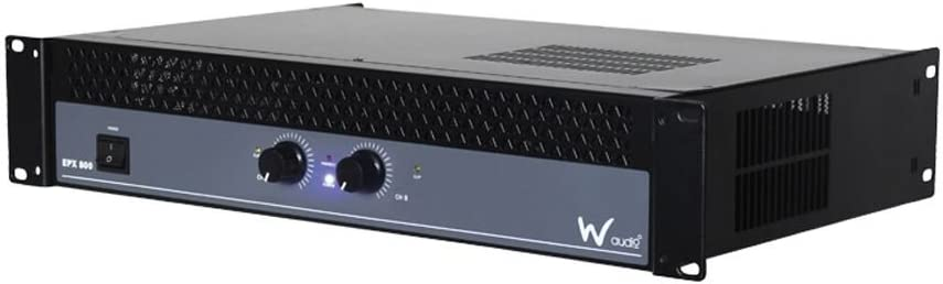 W-Audio EPX 500 Professional 500W Stereo Power Amplifier EPX500 Amp
