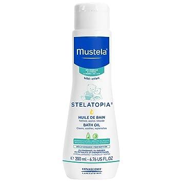 Mustela Stelatopia Bath Oil, Baby Bath Oil, for Eczema-Prone Skin, with  Natural Avocado Oil, 6 7 Ounce