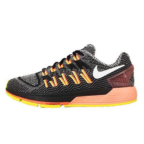 Nike Womens Air Zoom Odyssey Black White Sail Hyper Orange 008