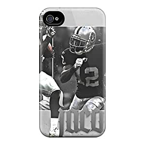 Hot New Oakland Raiders Case Cover For Iphone 4/4s With Perfect Design