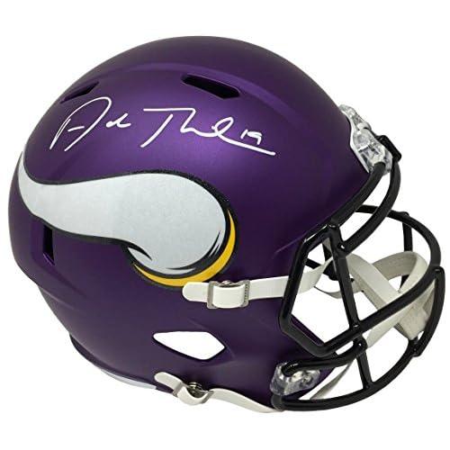 8d7520066 Adam Thielen Signed Minnesota Vikings Full Size Replica Speed Helmet JSA ITP